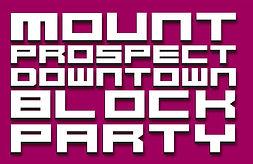 Mount Prospect Downtown Block Party Logo