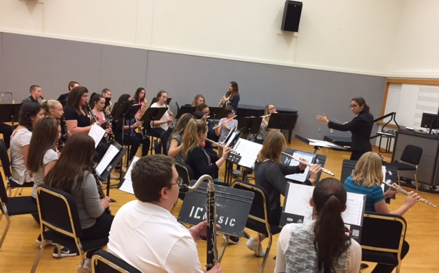 Conducting at Ithaca College