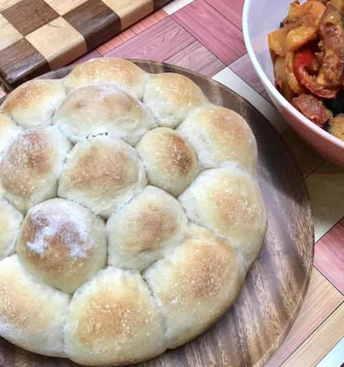 天然酵母のちぎりパン