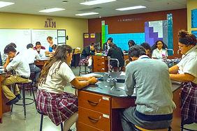 Chemistry Class at ILTexa GHS