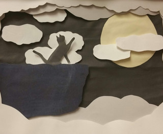 Atmospheric perspective shadow boxes