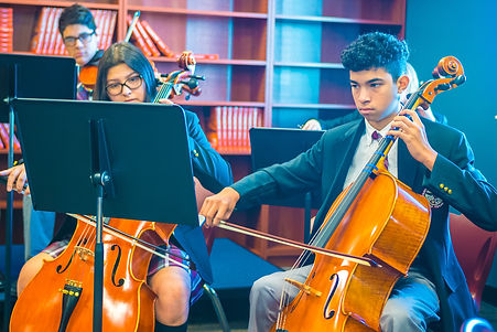 Katy-Westpark High School Ensemble Playing at the Grand Opening