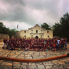 TX Road Scholars Trip 2015 - The Alamo