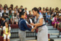 Garland K-8 Elementary Graduation Ceremony