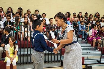 Garland K-8 Elementary Graduation Ceremony