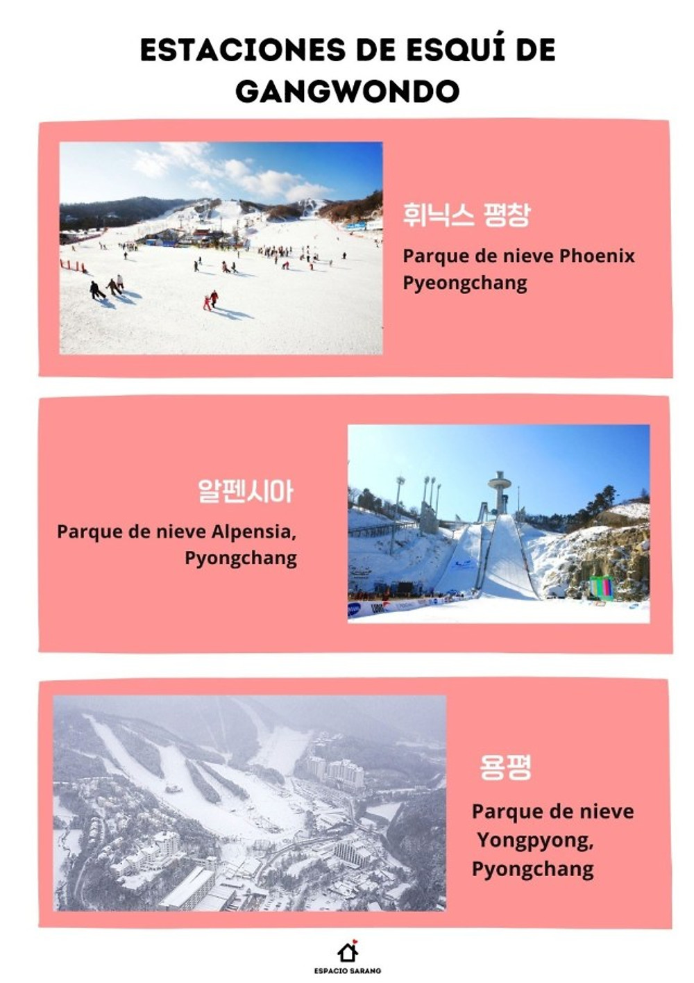 Esqui en Corea