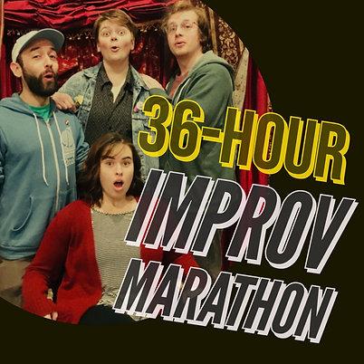 36-Hour Improv Marathon Pass