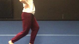 Cartwheel Practice