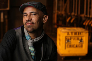 Two Sisters & A Piano playwright Nilo Cruz [Hover over photo for DOWNLOAD arrow]
