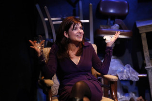 CAROL TODD in JERICHO at 59e59, 2013; Photo credit: Carol Rosegg [Hover over photo for DOWNLOAD arrow]