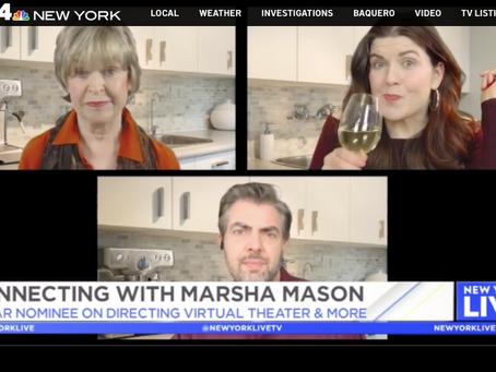 Marsha Mason Talks JERICHO on NBC's New York Live!
