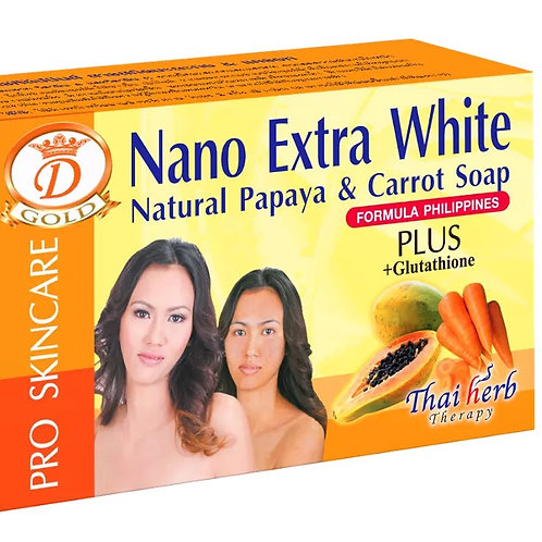 SAVON NANO EXTRA WHITE ÉCLAIRCISSANT