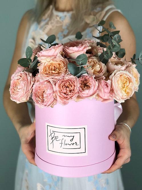 "Flower box ""PRETTY IN PINK"""