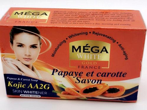 Savon Mega White papaye carrot