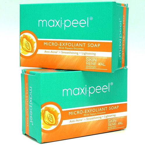 Savon Maxi-peel  papaye micro exfoliant