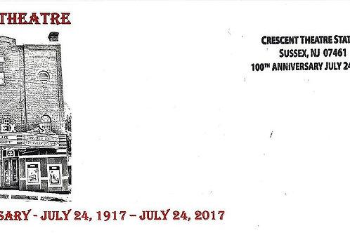 Crescent Theatre 100th Anniversary Commemorative Envelope