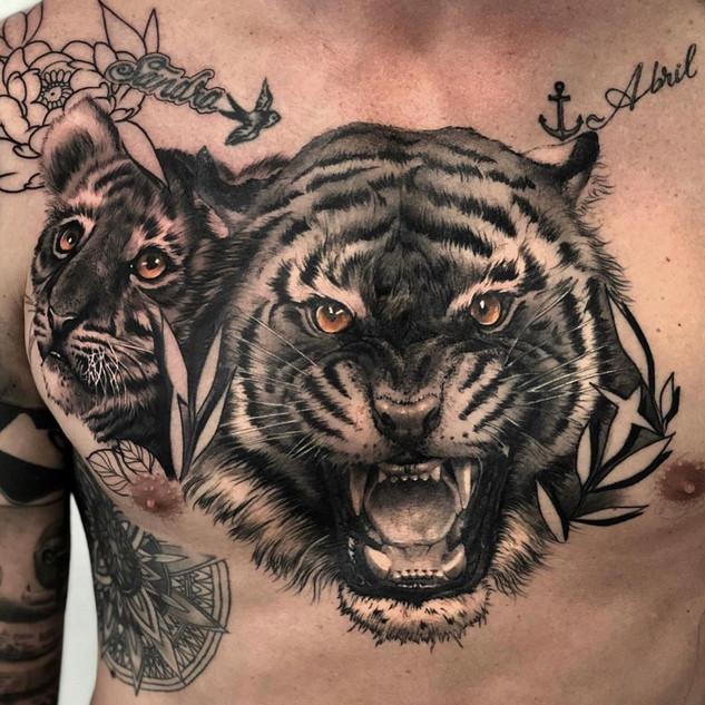 Tatuaje Pecho