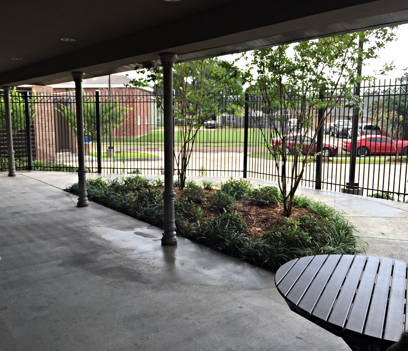 Outdoor Patient / Smoking Area