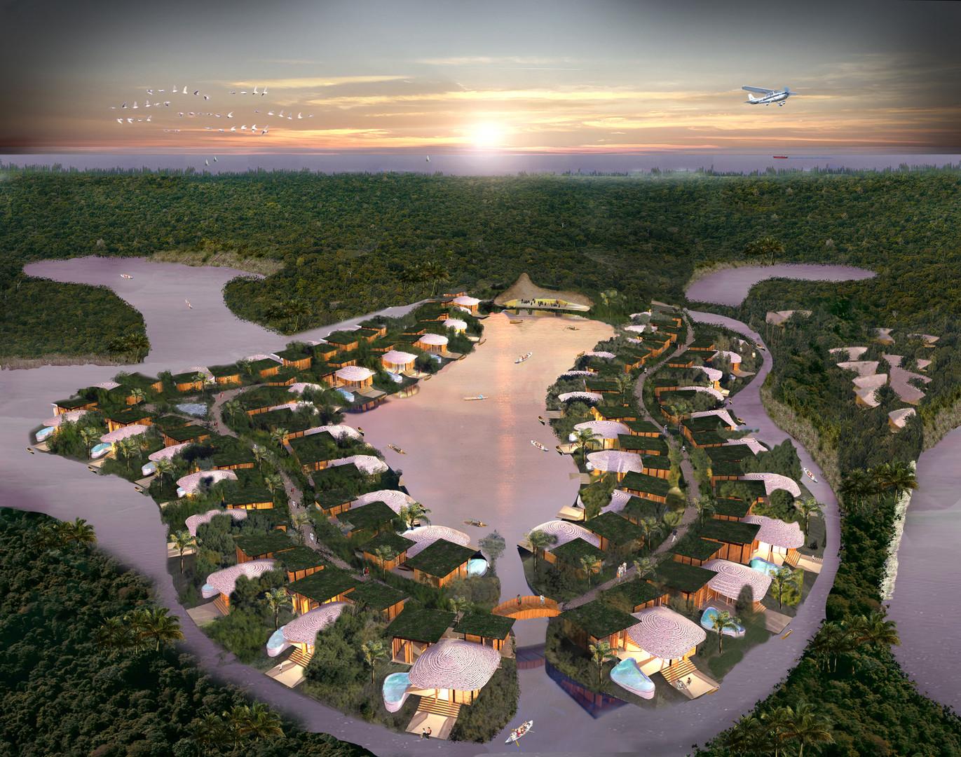 Eco Resort Galle Natrufied LIVINWOOD