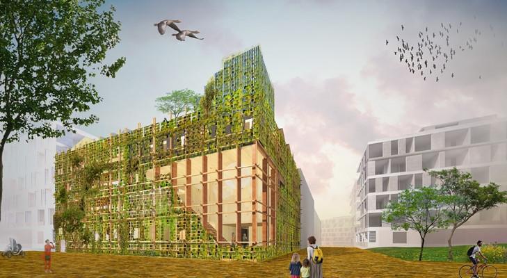 Ultra collectief en natuurinclusief bouw Natrufied LIVINWOOD