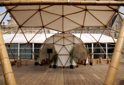mini Bamboo Dome LIVINWOOD