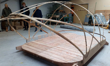 bamboe structuur BreezeUp LIVINWOOD