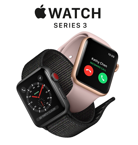 Apple Watch Series 3 - GPS + Cellular