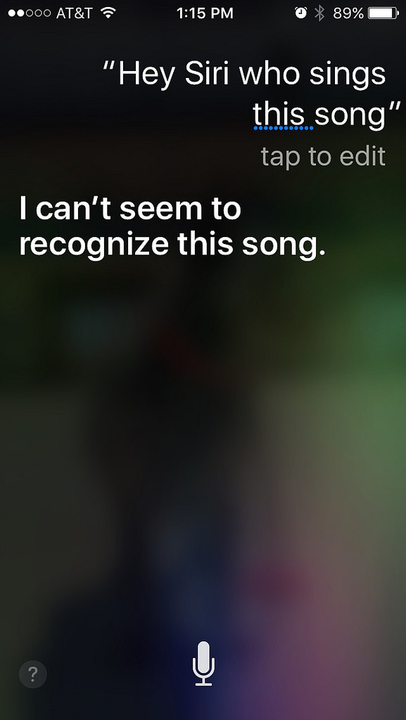 How to Siri to understand what you say