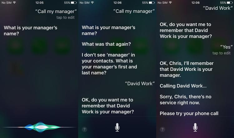 how to siri nicknames