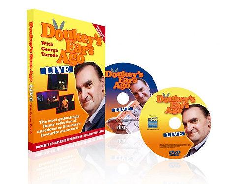 George Torode Donkey's Ears Ago Live DVD & CD