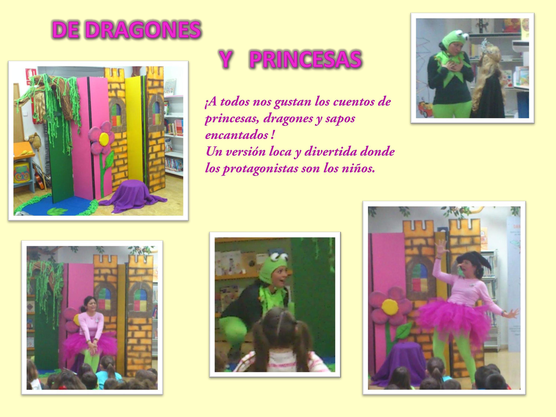 DRAGONES Y PRINCESAS