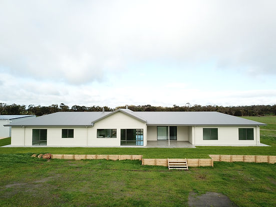 Our recently completed custom-designed family home in Manypeaks