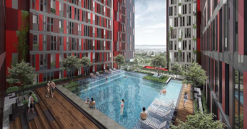 Swimming Pool Alton Apartment
