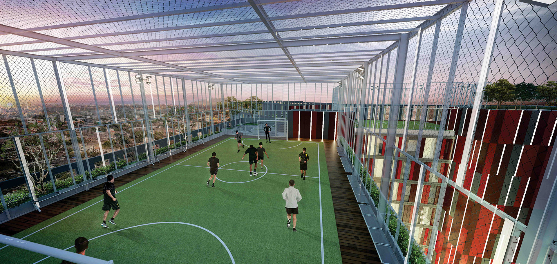 Futsal Rooftop Alton Apartment