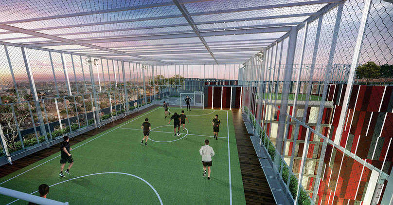 Futsal Rooftop Alton Apartment