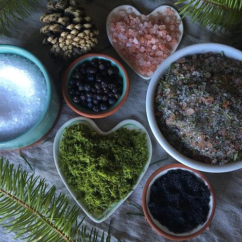 Evergreen Winter Bath Salts