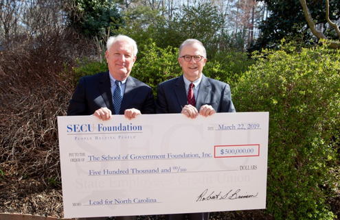 Lead for North Carolina receives $500,000 grant