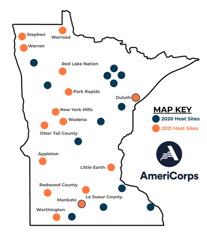 Minnesota Map 2021 Host Sites 6.28.21.pn
