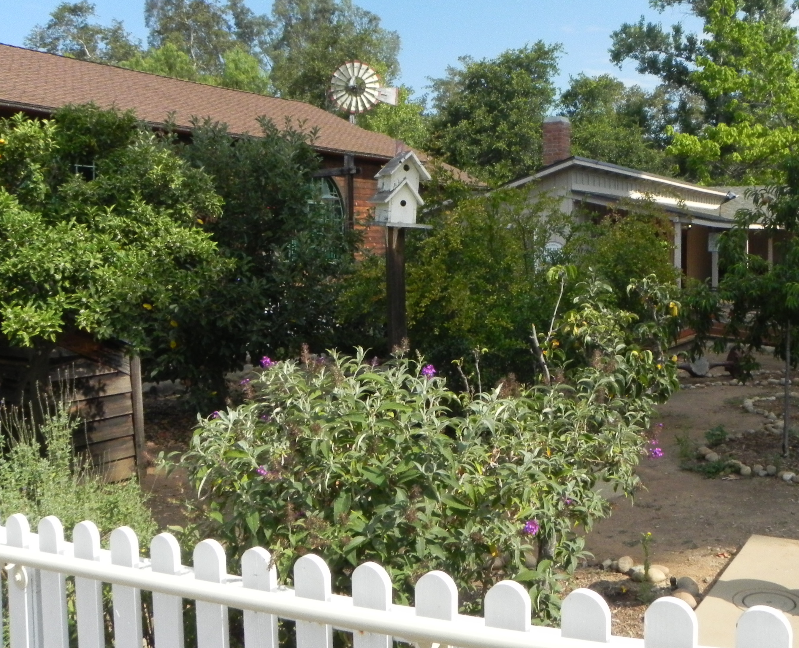 Old Poway Park Courtyard