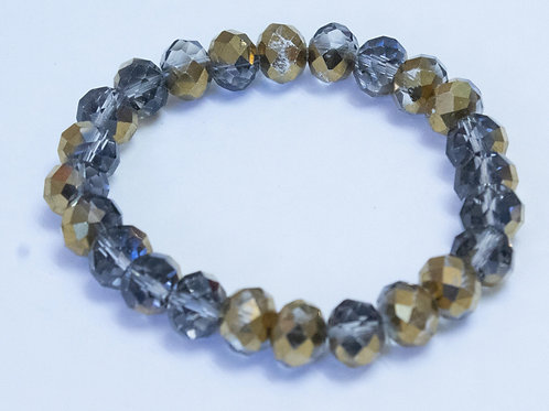 Gold and Silver Fashion Bracelet