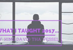 What I Taught 2017…