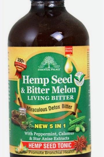 Hemp Seed & Melon Living Bitters - 8 oz.