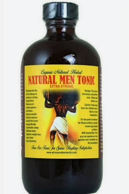 Natural Men Tonic - 8 oz.