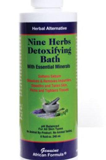 Nine Herbs Detoxifying Bath Formula 8oz.