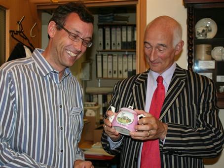 Paul Atterbury visits Gillingham