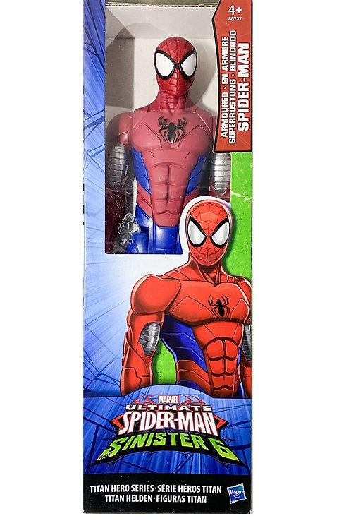 marvel titan hero series Armoured spiderman
