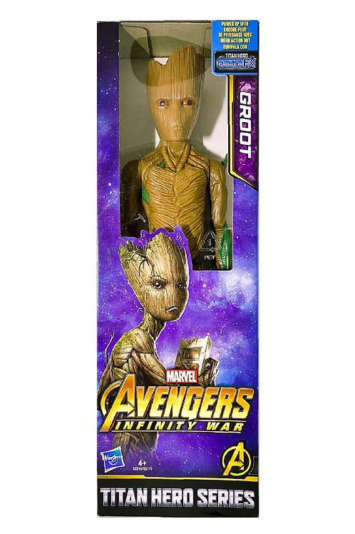 Marvel titan hero series groot