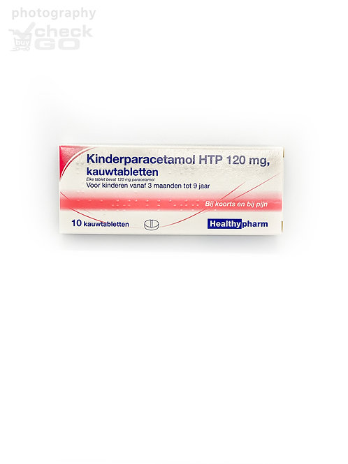 Kinderparacetamol HTP 120 mg, kauwtabletten
