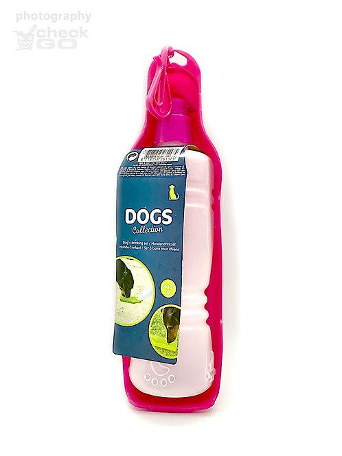 Draagbare waterfles voor hond