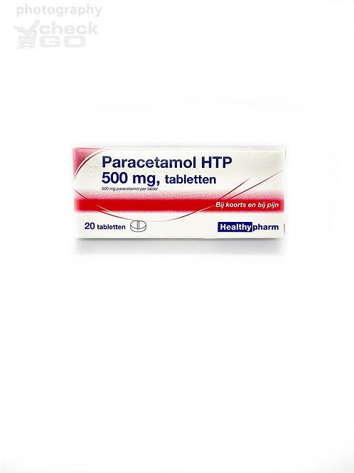 Paracetamol HTP 500 mg, tabletten